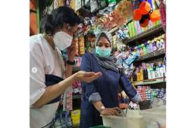 Sri Mulyani Blusukan ke Pasar Santa, Klarifikasi Soal…