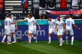 Hasil Piala Eropa (Euro 2020), Schick Bawa Cheska…