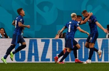 Hasil Euro 2020, Slovakia Permalukan Polandia di Grup E Skor 2–1
