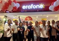 Pembukaan salah satu gerai Erafone milik PT Erajaya Swasembada Tbk. (ERAA) di Sumatra Utara, Januari 2020./Dok. erajaya.com