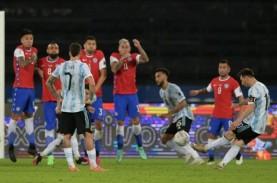 Argentina vs Cile Imbang 1-1, Ini Klasemen Grup A…