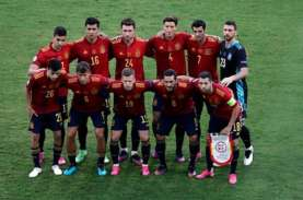 Hasil Pertandingan dan Klasemen Grup E EURO 2020: Slovakia Memimpin