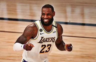 LeBron James Resmi Ganti Nomor Punggung Musim Depan