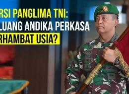 Bursa Panglima TNI, Jokowi Bakal Pilih Andika Perkasa?