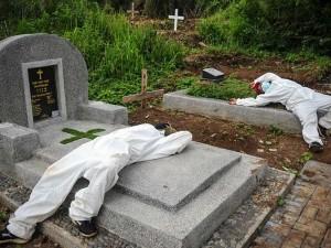 Pemakaman Dengan Protokol Covid-19 di Jabar Meningkat