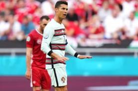 Hasil Euro 2020 Hungaria vs Portugal, Skor Babak I…