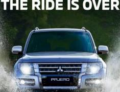Gambar Pajero Hilang dari Situs Resmi Mitsubishi