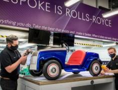 Mobil Imut Rolls-Royce SRH Jalani Servis Perdana