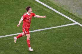 Hasil Euro 2020 Rusia vs Finlandia, Babak I Rusia…
