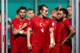 Euro 2020 Grup A: Kalah dari Wales 0-2, Pemain Turki…