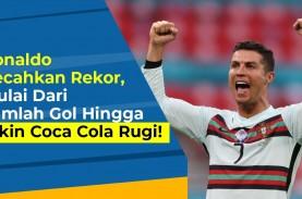 EUROporia: Torehan Rekor Ronaldo, Tidak Semuanya Dihasilkan…