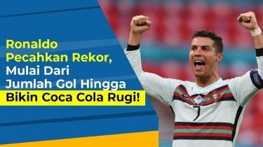 EUROporia: Torehan Rekor Ronaldo, Tidak Semuanya Dihasilkan di Lapangan Hijau