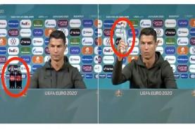 4 Fakta Aksi Christiano Ronaldo: Pindahkan Botol Coca…