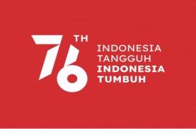 Setneg Rilis Logo & Tema HUT Ke-76 RI, Begini Penampakannya