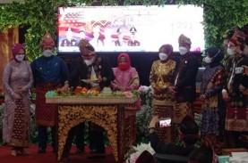 HUT Palembang: Gubernur Sumsel Beri Hadiah Dana Infrastruktur