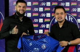 Diego Michiels Siap Bawa Arema Juara Liga 1