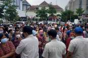 Angka Covid-19 Terus Melonjak, Kawasan Simpanglima Semarang Ditutup