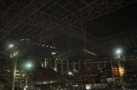 Rangka Atap Jakarta International Stadium Berhasil…