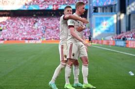 Hasil Denmark vs Belgia: Menang Lagi, Belgia Lolos…