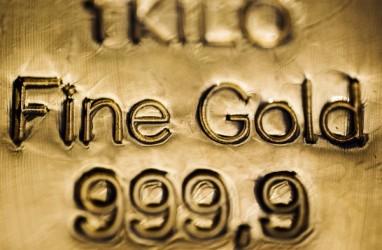 Emas Berjangka Jatuh Terseret Penguatan Dolar AS