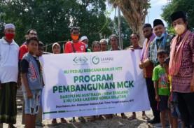 Pemulihan NTT, NU Care Bangun MCK untuk Warga di Timor…
