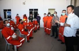 Muhammad Rudi Tinjau Vaksinasi di Perusahaan Galangan Kapal