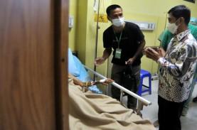 Ruang Isolasi Covid-19 di Rumah Sakit Bali Terisi…