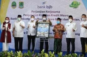 BJB Karawang Salurkan KUR Rp32 Miliar untuk Petani…