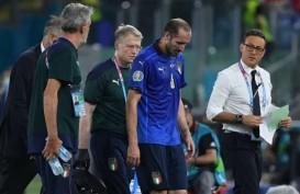 Kapten Italia Chiellini Berharap Pulih di Babak 16 Besar Euro 2020