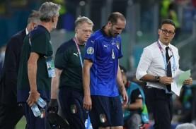 Kapten Italia Chiellini Berharap Pulih di Babak 16…