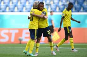 Hasil Piala Eropa: Swedia Menang Lawan Slovakia, Forsberg…