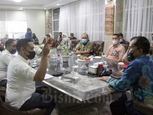 Walikota Makassar Terima Kunjungan Tim Jelajah Infrastruktur Bisnis Indonesia