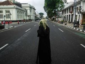 Bandung Raya Siaga Satu Covid-19, Jalan Protokol di Bandung Ditutup