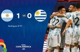 Hasil Copa America : Argentina Atasi Uruguay, Lionel…