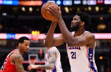 Hasil Semifinal Basket NBA, Sixers Paksa Hawks Mainkan Gim Ketujuh