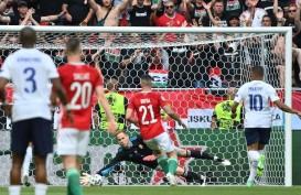 Babak Pertama 1-0: Prancis Mendominasi, Tapi Hungaria Mampu Curi Gol