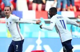 Skor Akhir Prancis vs Hungaria 1-1, Gol Griezmann Selamatkan Les Blues