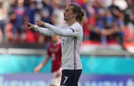 Fakta Pertandingan Euro 2020: Griezmann Lampaui Rekor Gol Thierry Henry