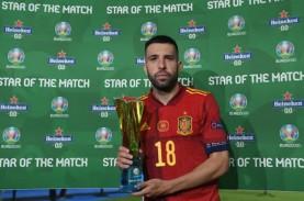 Jordi Alba Pemain Terbaik Ketika Spanyol vs Polandia…