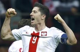 Robert Lewandowski Buat Sejarah Cetak Gol di 3 Putaran Final Euro