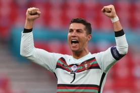 Top Skor Euro 2020: Kaki Kiri Ronaldo Lebih Ganas