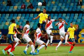Kalah 1-2 dari Peru, Kolombia Gagal Kudeta Brasil…