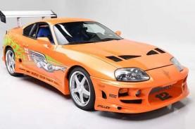 Mobil Fast and Furious Toyota Supra 1994 Laku Dilelang…