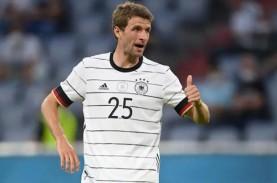 Euro 2020, 4 Pemain Jerman Cedera, Muller Terancam…