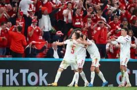 Hasil Grup B Euro 2020, Denmark Bantai Rusia, Lolos…