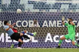 Hasil Copa America : Uruguay vs Cile Imbang Skor 1–1