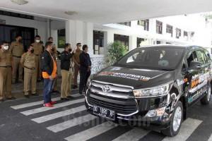 Wali Kota Makassar Lepas Tim Jelajah Infrastruktur Metro Mamminasata 2021