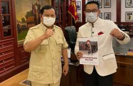 Bertemu Prabowo, Ridwan Kamil Minta Izin Berkomunikasi Langsung