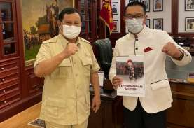 Bertemu Prabowo, Ridwan Kamil Minta Izin Berkomunikasi…