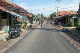 200 Kilometer Jalan di Kabupaten Cirebon dalam Kondisi…